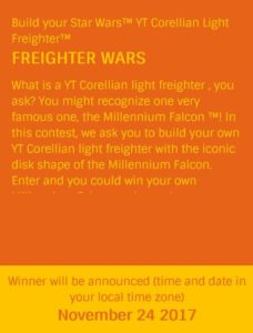 "LEGO® Rebrick ""Freighter Wars"" Wettbewerb Screenshot 31.10. | © LEGO Group"