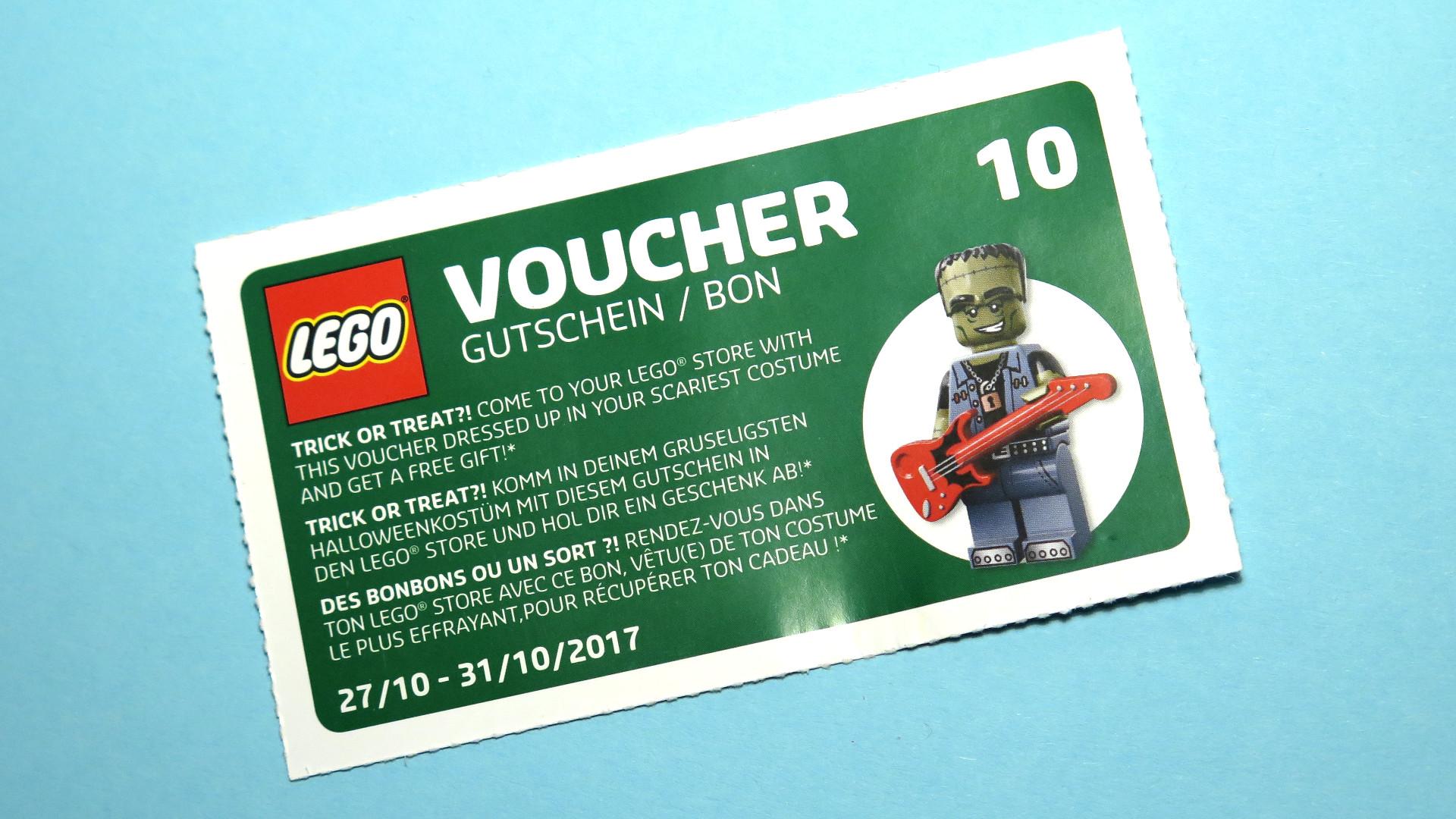 LEGO® Wandkalender 2017 Gutschein 10 | © 2017 Brickzeit
