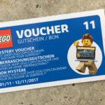 LEGO® Wandkalender 2017 Gutschein 11 | © 2017 Brickzeit