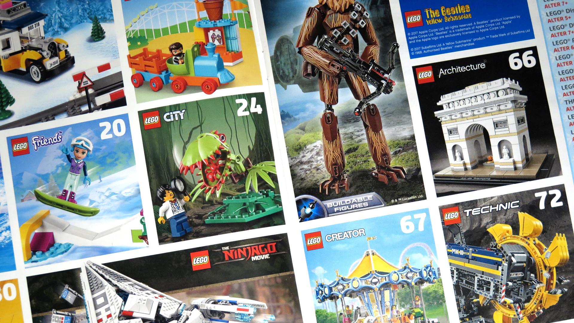 LEGO® Weihnachtskatalog 2017 | © 2017 Brickzeit