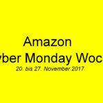 Amazon Cyber Monday Woche 2017 | © 2017 Brickzeit