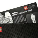Exklusive, schwarze VIP-Karte im Umschlag | © 2017 Brickzeit
