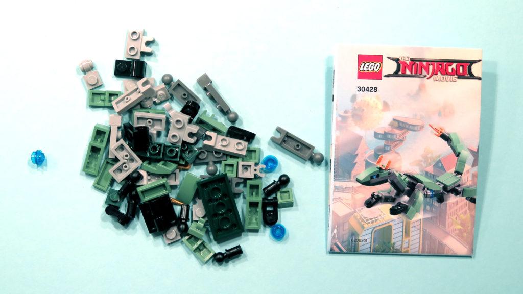 LEGO NINJAGE 30428 Green Ninja Mech Dragon Einzelteile | ©2017 Brickzeit