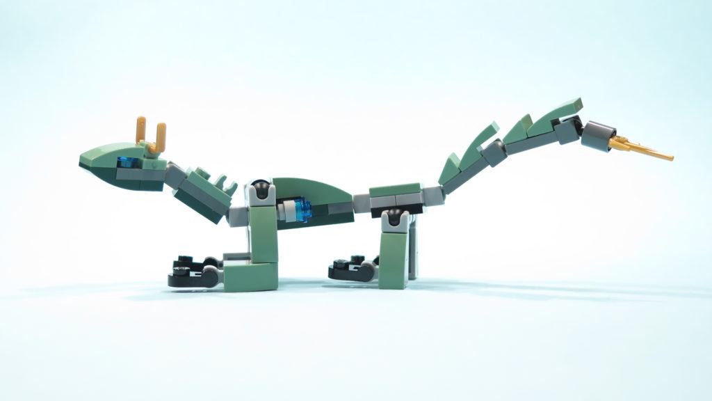 LEGO NINJAGE 30428 Green Ninja Mech Dragon | ©2017 Brickzeit