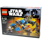 LEGO® Star Wars™ 75167 Bounty Hunter Speeder Bike™ Battle Pack Packung | © 2017 Brickzeit
