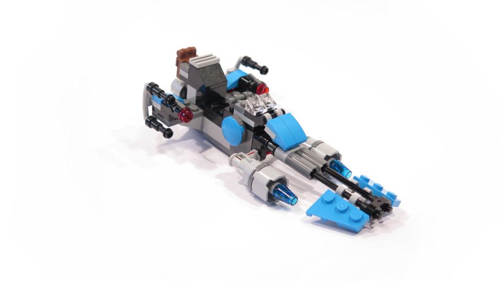 LEGO® Star Wars™ 75167 Bounty Hunter Speeder Bike™ | © 2017 Brickzeit