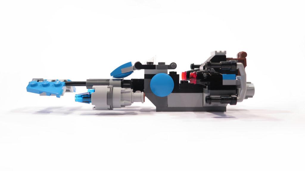 LEGO® Star Wars™ 75167 Bounty Hunter Speeder Bike™ linke Seite | © 2017 Brickzeit