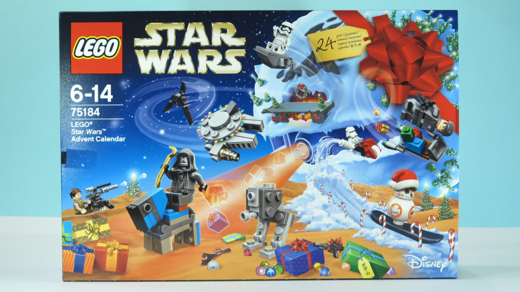 LEGO® Star Wars™ 75184 Adventskalender 2017 | © 2017 Brickzeit