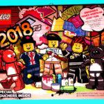 LEGO Wandkalender 2018 Deckblatt | © 2017 Brickzeit