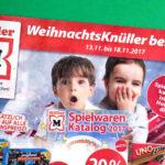 Müller WeihnachtsKnüller Prospekt KW46-2017 | ©2017 Brickzeit