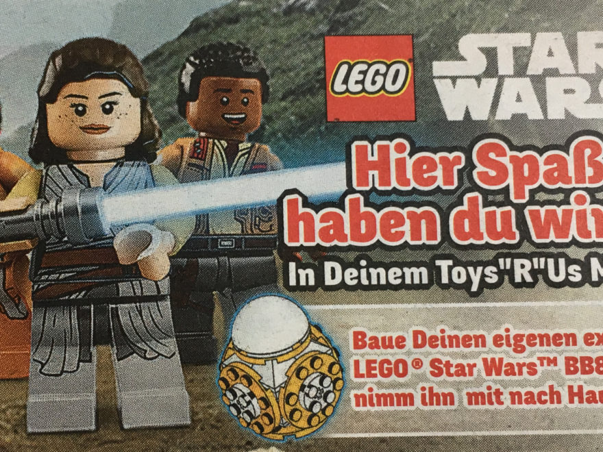 "Toys""R""Us LEGO® Star Wars™ BB-8™ Bauaktion 11.11.2017 