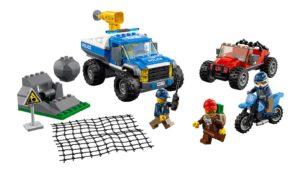 60172 LEGO City Verfolgungsjagd auf Schotterpisten Produkt | © LEGO Gruppe