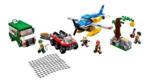 60175 LEGO City Überfall auf dem Gebirgsfluss Produkt | © LEGO Gruppe