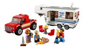 60182 LEGO City Pickup und Wohnwagen Produkt | © LEGO Gruppe