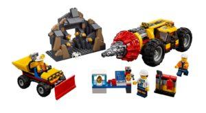 60186 LEGO City Schweres Bohrgerät für den Bergbau Produkt | © LEGO Gruppe