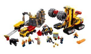 60188 LEGO City Bergbauprofis an der Abbaustätte Produkt | © LEGO Gruppe