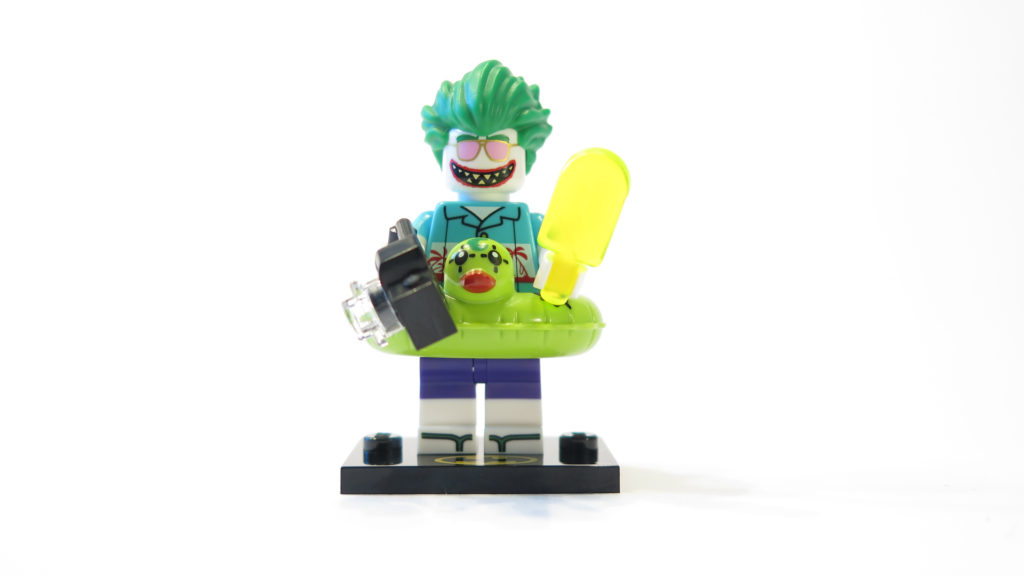 The LEGO Batman Movie 71020 Minifiguren Serie 2 - Ferien Joker angezogen | ©2017 Brickzeit