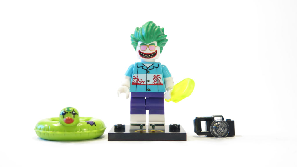 The LEGO Batman Movie 71020 Minifiguren Serie 2 - Ferien Joker | ©2017 Brickzeit