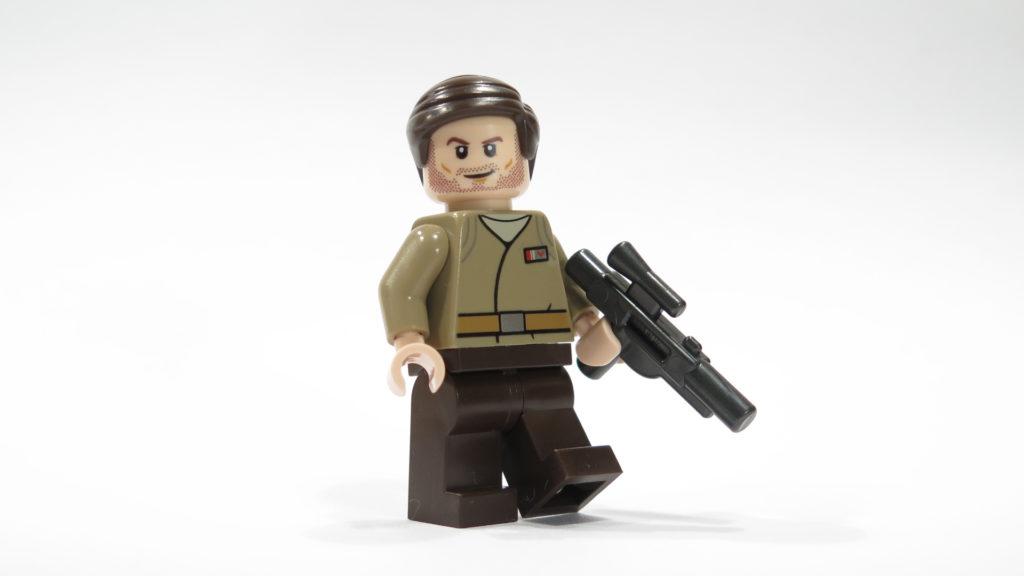 Resistance Officer aus Tür 5 vom LEGO® Star Wars™ Adventskalender 2017 | © 2017 Brickzeit