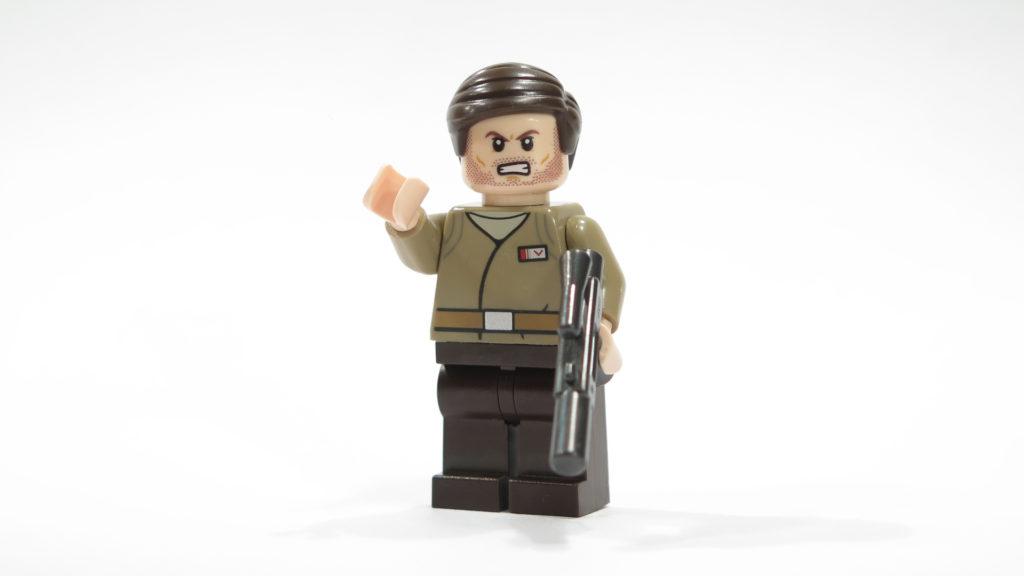 Offizier des Widerstands aus Tür 5 vom LEGO® Star Wars™ Adventskalender 2017 | © 2017 Brickzeit