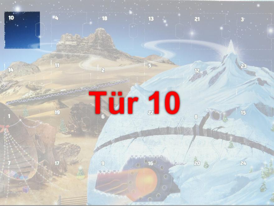 Tür 10 vom LEGO® Star Wars™ Adventskalender 2017 | © 2017 Brickzeit