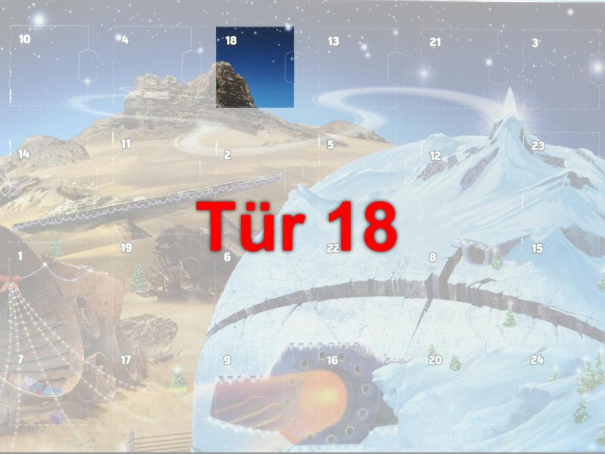 Tür 18 vom LEGO® Star Wars™ Adventskalender 2017 | © 2017 Brickzeit