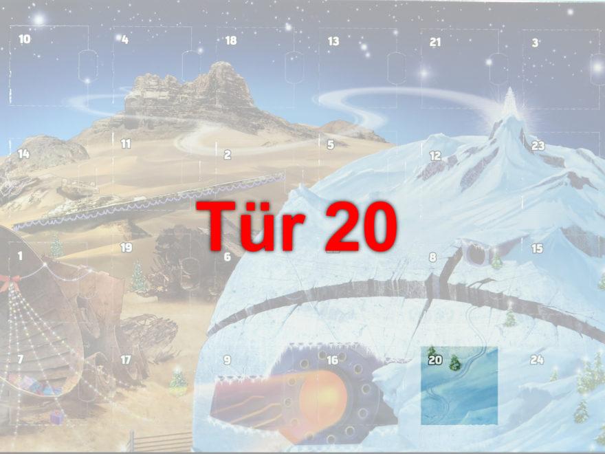 Tür 20 vom LEGO® Star Wars™ Adventskalender 2017 | © 2017 Brickzeit