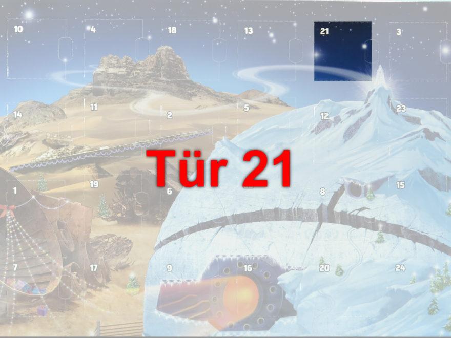 Tür 21 vom LEGO® Star Wars™ Adventskalender 2017 | © 2017 Brickzeit