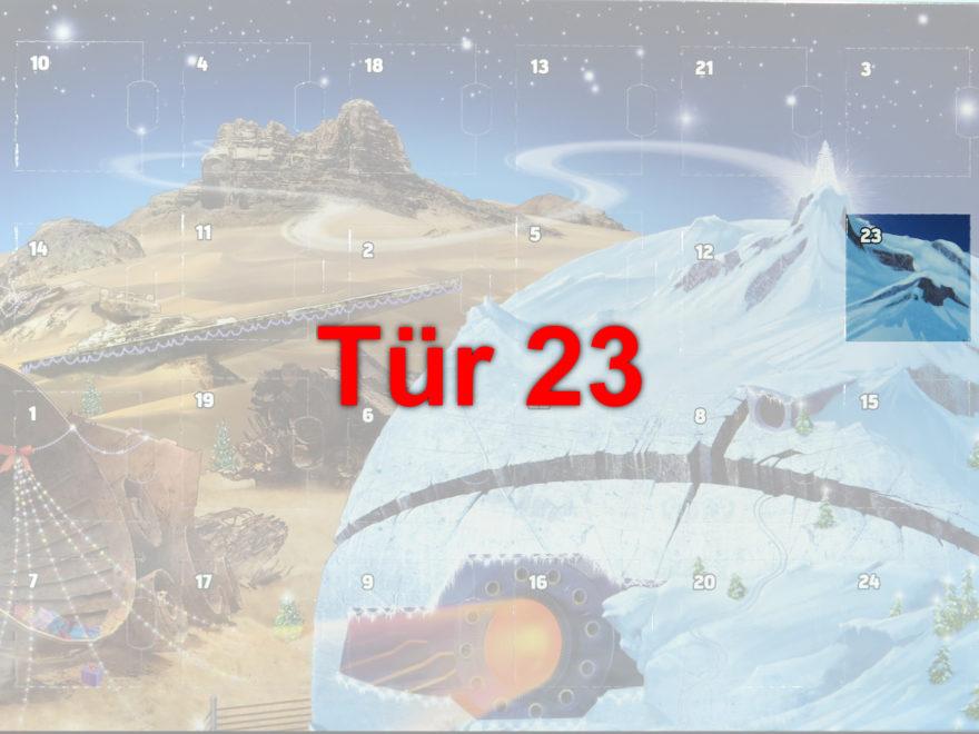 Tür 23 vom LEGO® Star Wars™ Adventskalender 2017 | © 2017 Brickzeit