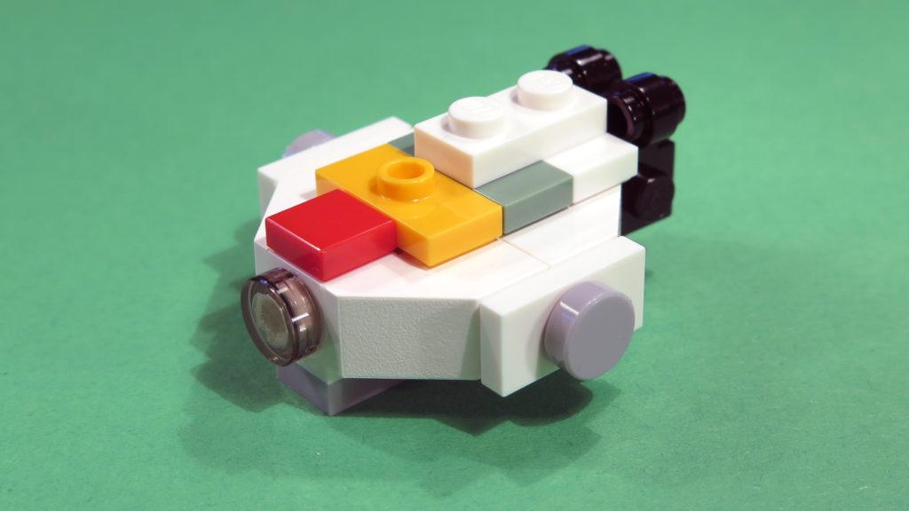 Mini Ghost aus Tür 1 vom LEGO® Star Wars™ Adventskalender 2017 | © 2017 Brickzeit