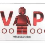 LEGO® VIP Karte | ©2017 Brickzeit