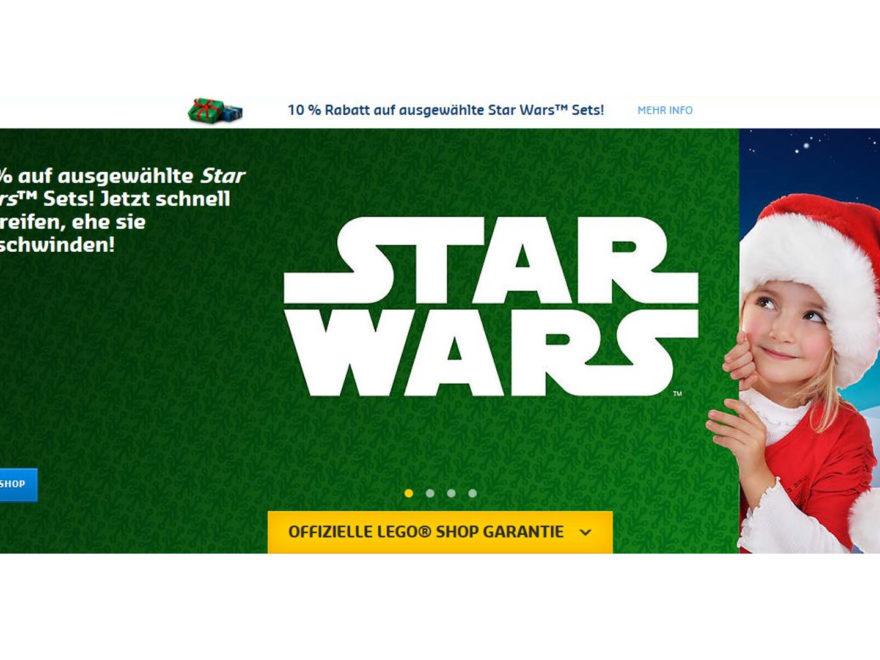 10 Prozent Rabatt auf LEGO Star Wars Sets | © LEGO Gruppe
