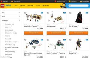 LEGO® Star Wars™ Neuheiten 2018 im LEGO Online Shop gelistet | © LEGO Gruppe