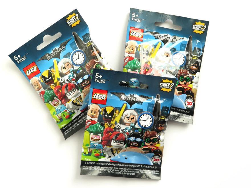 The LEGO Batman Movie 71020 Minifiguren Serie 2 Packungen   ©2017 Brickzeit