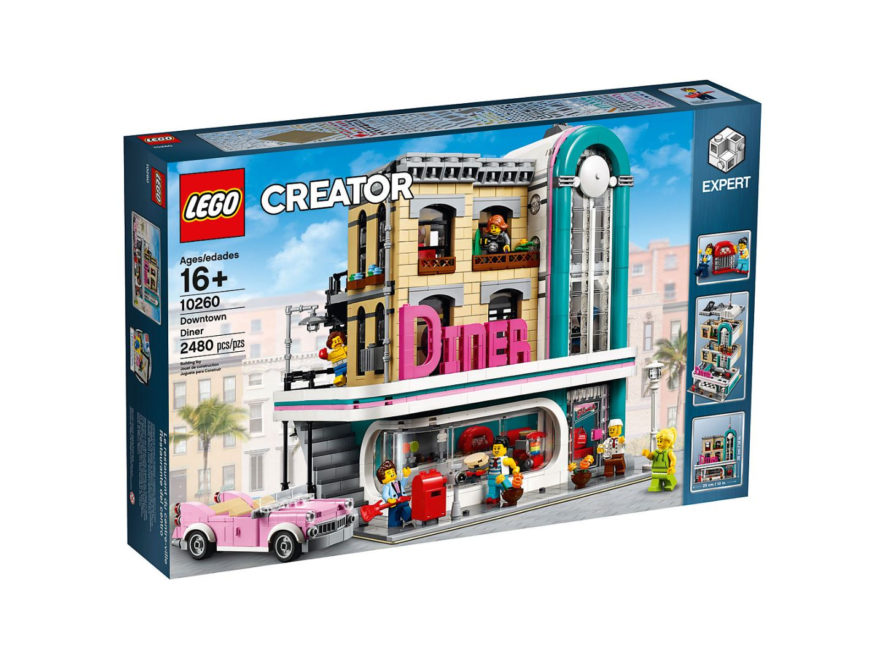 10260 LEGO Creator Expert Amerikanisches Diner - Packung | ©LEGO Gruppe