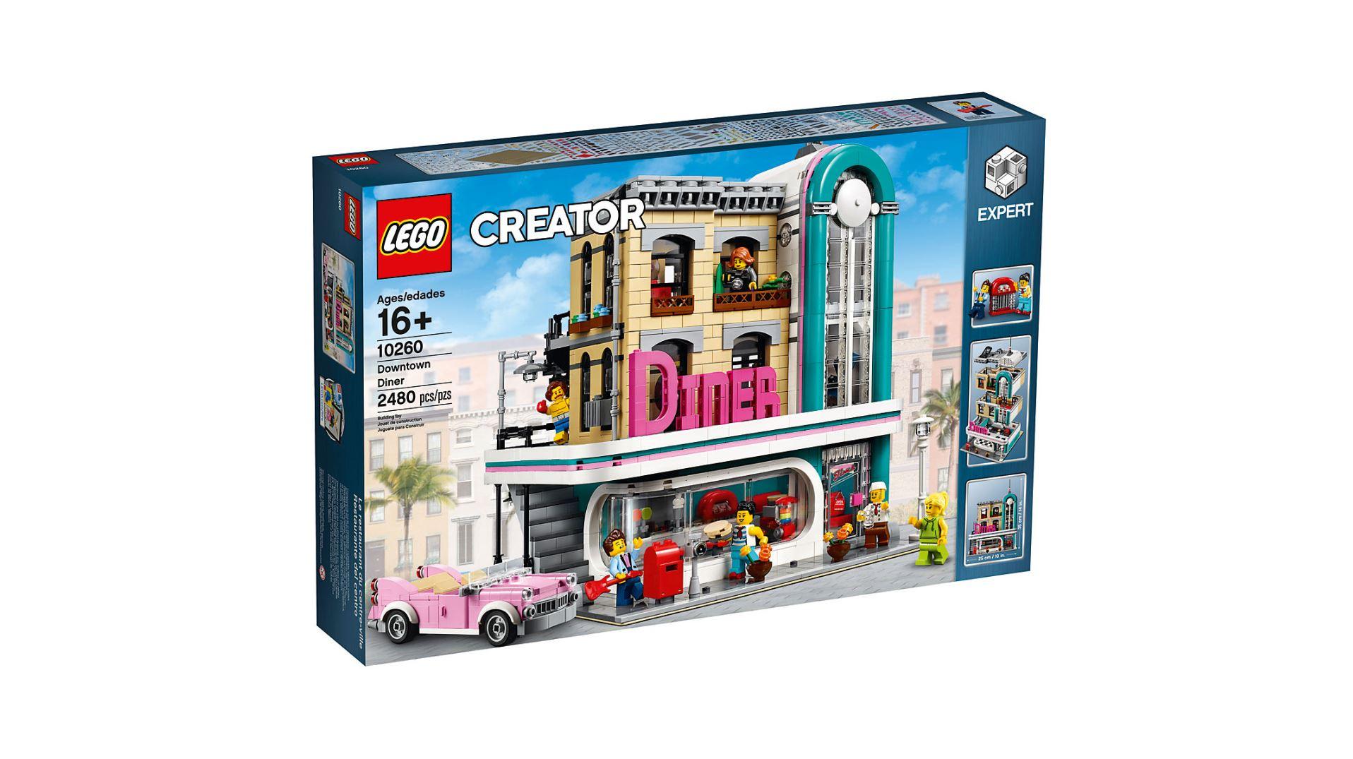 lego creator expert 10260 amerikanisches diner bei lego verf gbar brickzeit. Black Bedroom Furniture Sets. Home Design Ideas