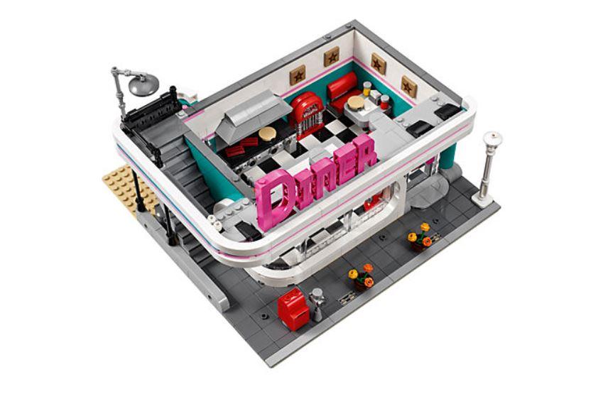 10260 LEGO Creator Expert Amerikanisches Diner - Restaurant | ©LEGO Gruppe