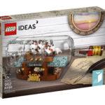 LEGO Ideas 21313 Schiff in der Flasche - Packung | © LEGO Gruppe