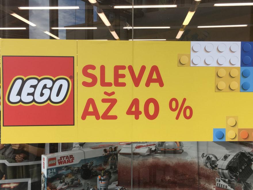 40 Prozent-Rabatt auf LEGO bei Bambule in Tschechien | © 2018 Brickzeit