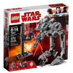 LEGO® Star Wars™ 75201 First Order AT-ST™ Packung Vorderseite | ©LEGO Gruppe