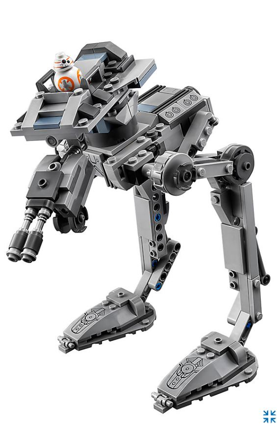 LEGO® Star Wars™ 75201 First Order AT-ST™ Produktbild | ©LEGO Gruppe