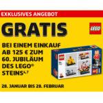 Ankündigung Gratis-Set 42090 60 Jahre LEGO Stein | © LEGO Gruppe