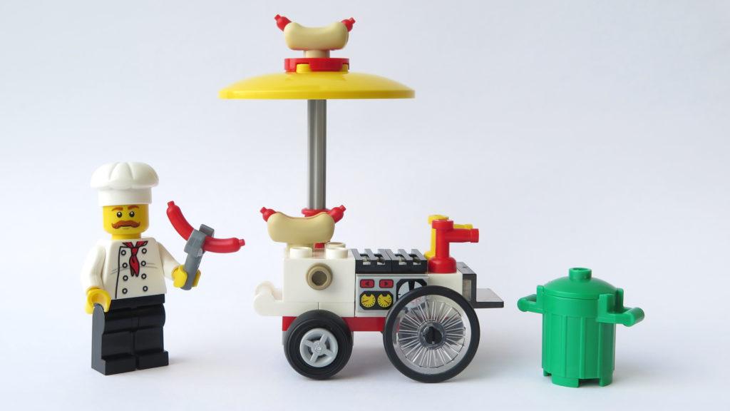 LEGO City 30356 Hotdog-Wagen - Vorderseite | © 2018 Brickzeit