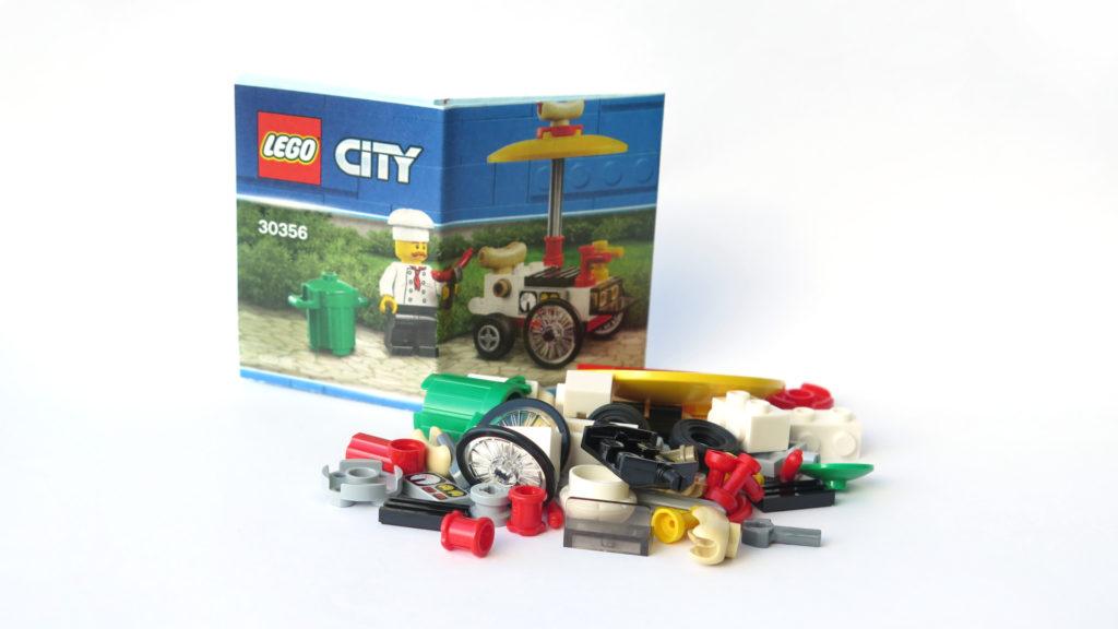 LEGO City 30356 Hotdog-Wagen - Inhalt | © 2018 Brickzeit