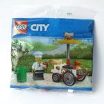 LEGO City 30356 Hotdog-Wagen - Polybag | © 2018 Brickzeit