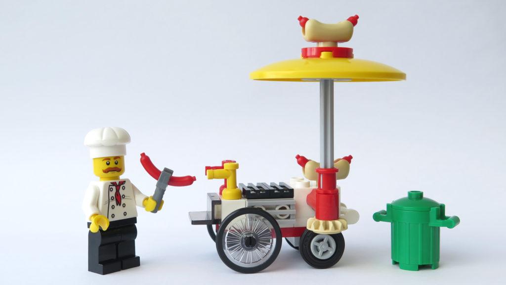 LEGO City 30356 Hotdog-Wagen - Rückseite | © 2018 Brickzeit
