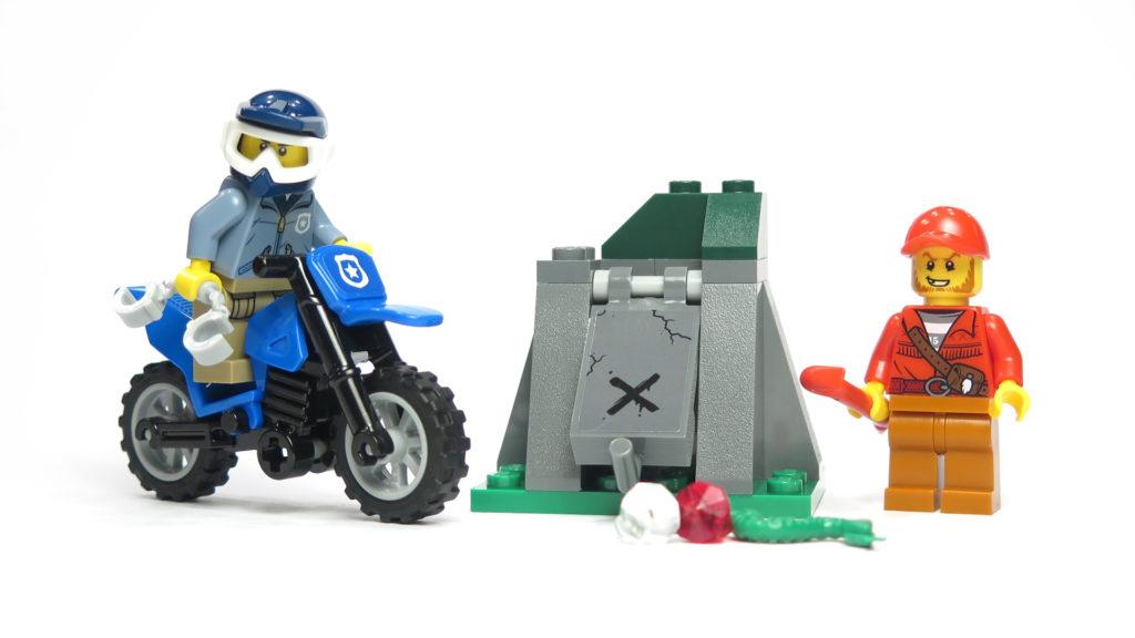LEGO® City 60170 Offroad-Verfolgungsjagd | © 2018 Brickzeit