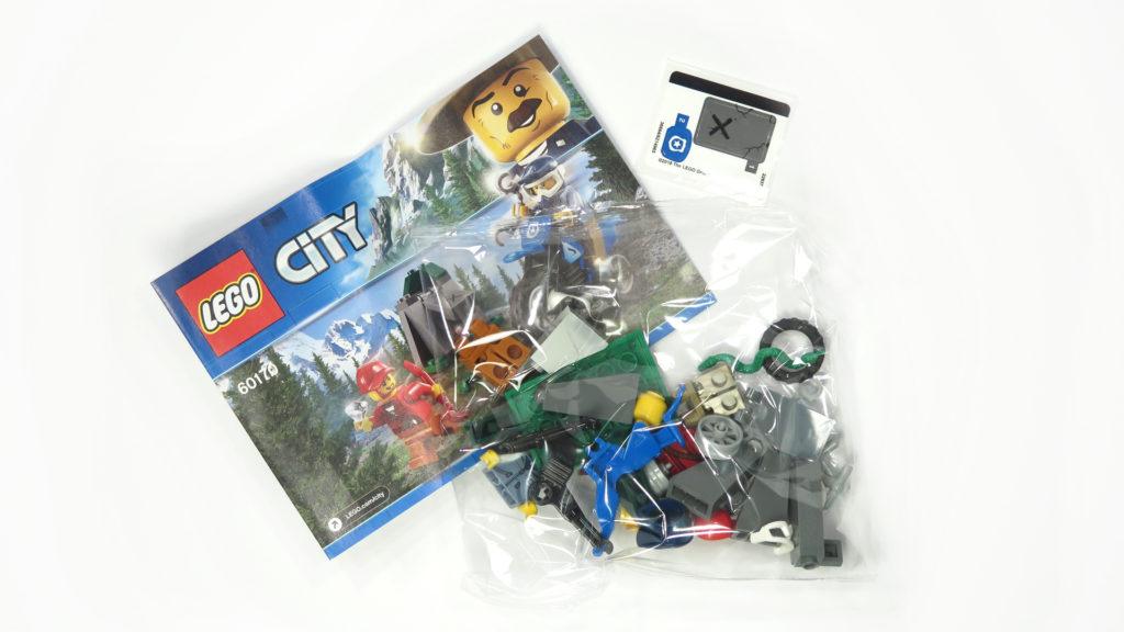 LEGO® City 60170 Offroad-Verfolgungsjagd - Inhalt | © 2018 Brickzeit