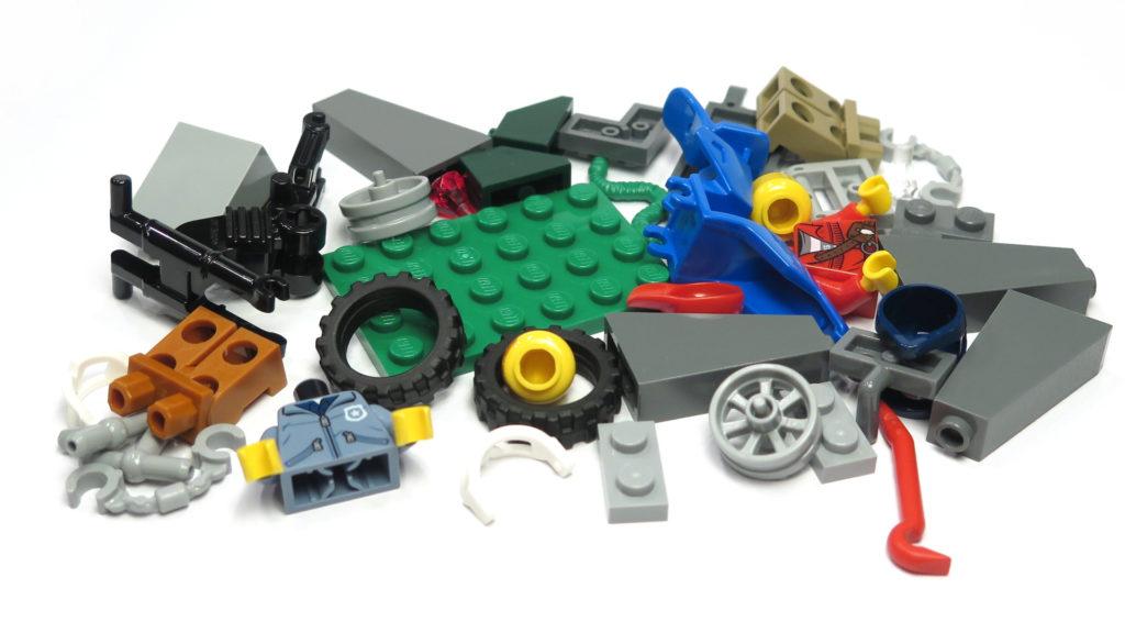 LEGO® City 60170 Offroad-Verfolgungsjagd - Teile | © 2018 Brickzeit