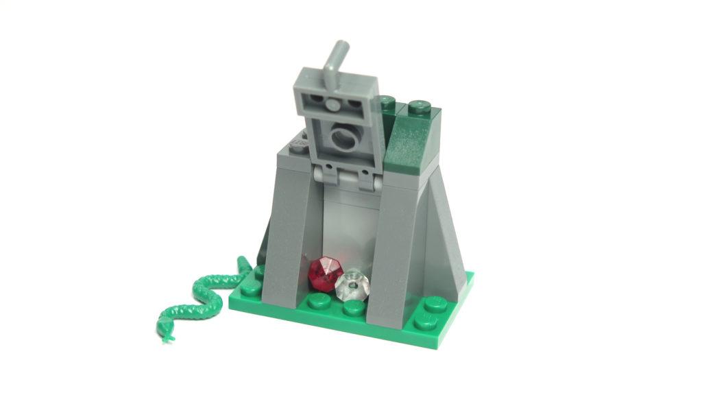LEGO® City 60170 Offroad-Verfolgungsjagd - Versteck mit Schlange und Edelsteine | © 2018 Brickzeit